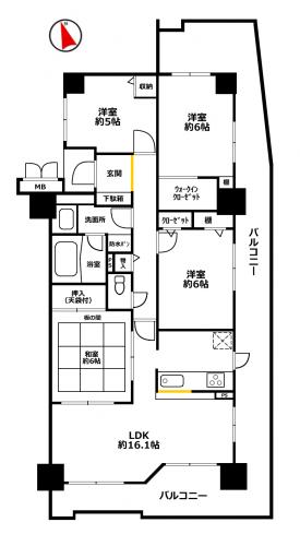 エンブレイス姫路飾磨Ⅲ201