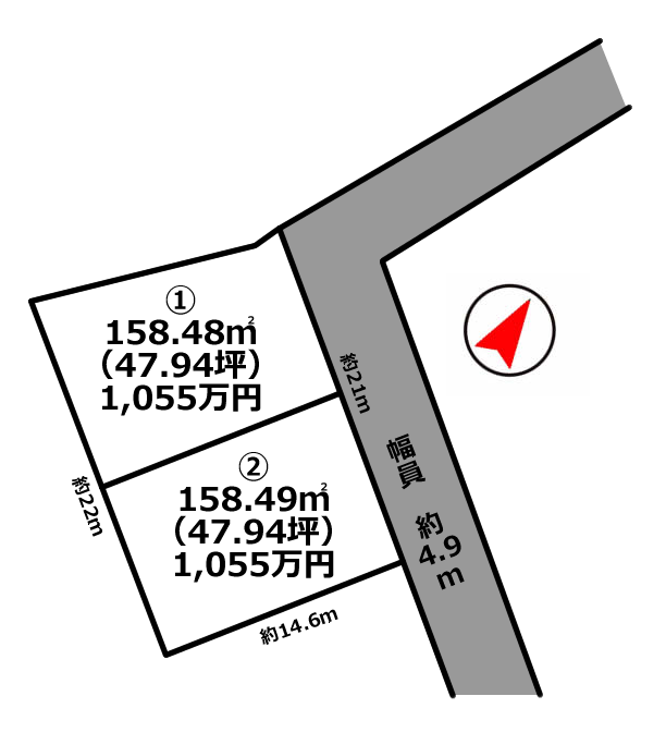 平岡町土山2区画