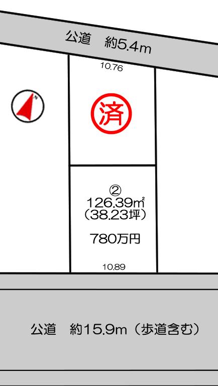 大津区恵美酒町2区画サンキュー4